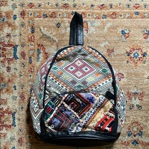 Urban Outfitters Ecote Embroidered Mirror Backpack